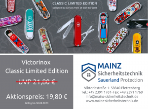 Victorinox Classic Limited EditionMAINZ