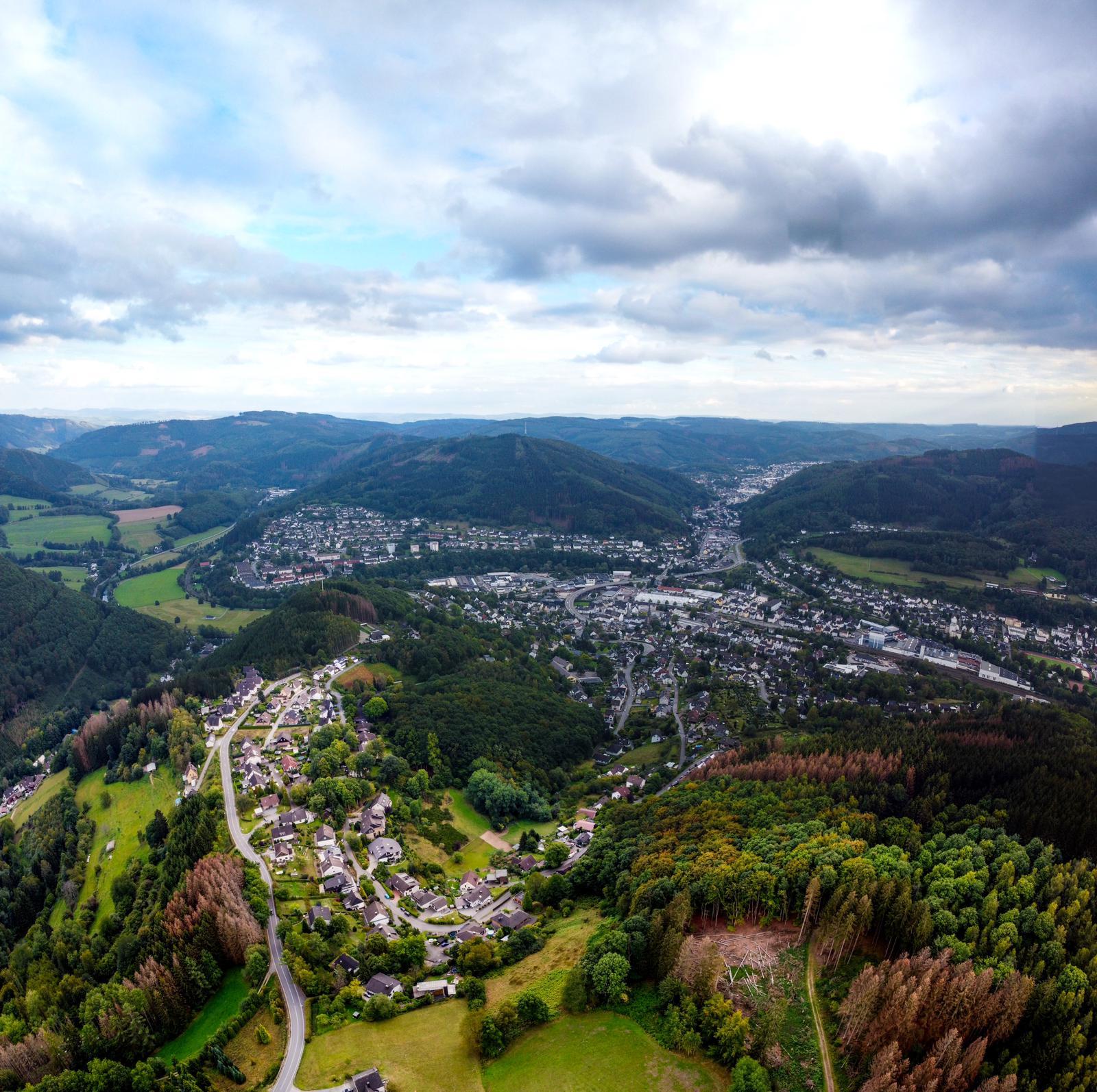 Plettenberg von oben