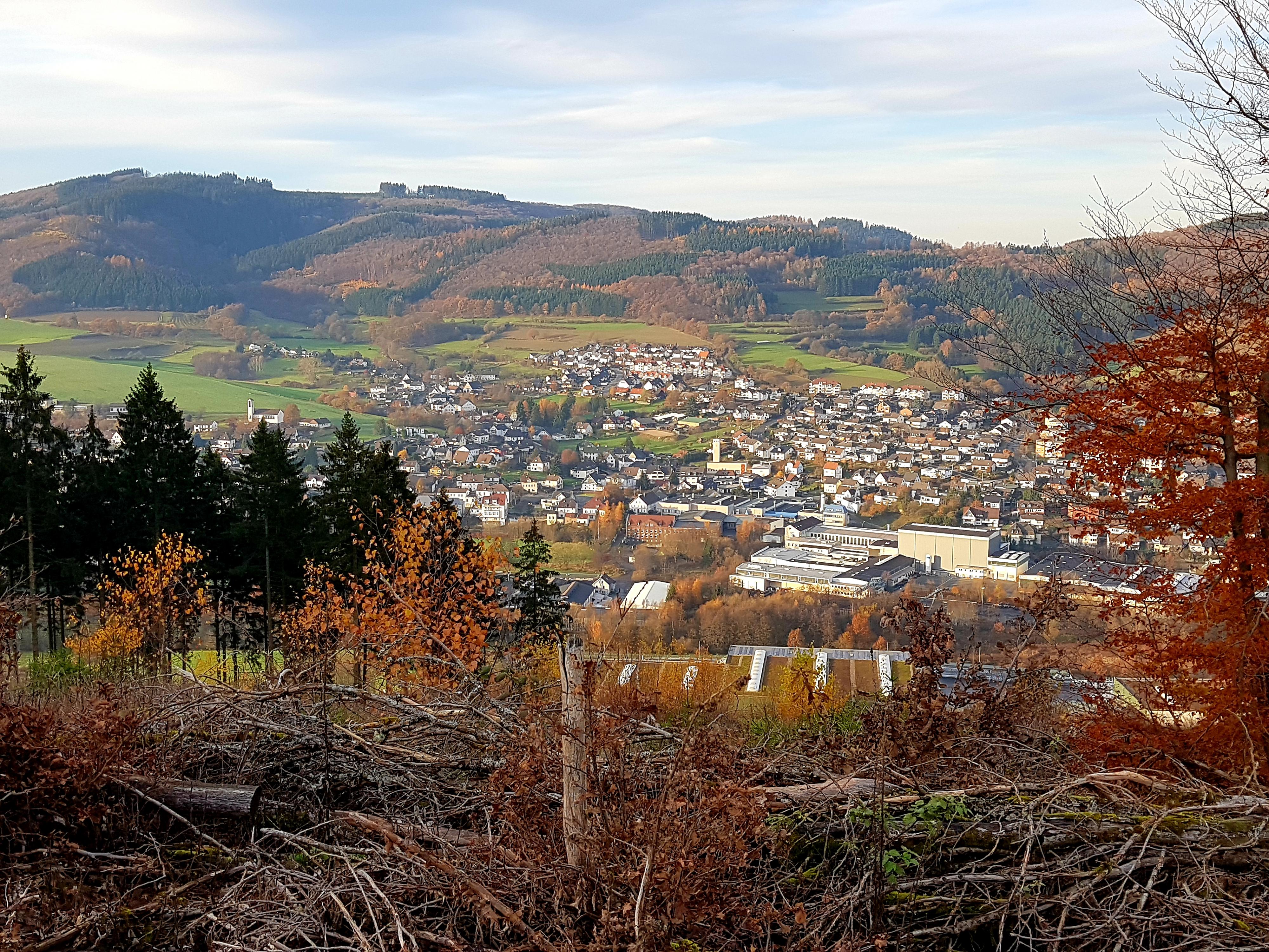 Von der Sundhelle - Blick auf Holthausen