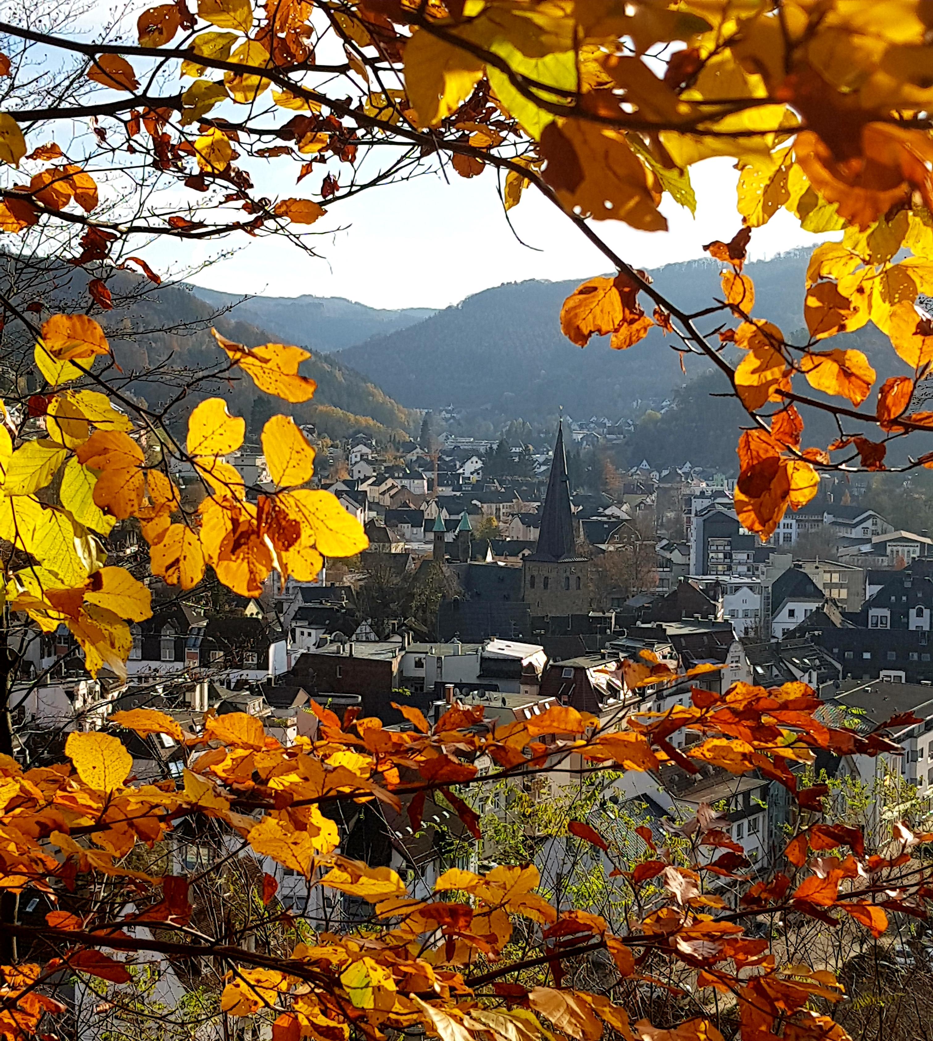 Plettenberg im Herbst